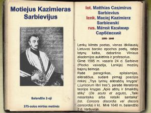 Motiejus Kazimieras Sarbievijus